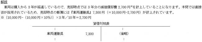 固定資産の売却2