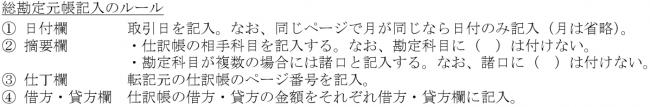 総勘定元帳1