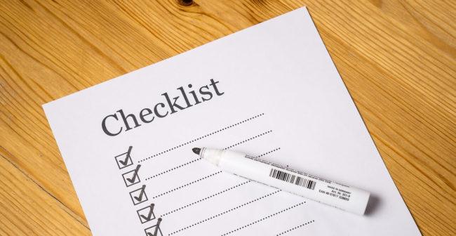 日商簿記検定の持ち物チェックリスト
